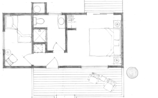 View Cabin Floorplan